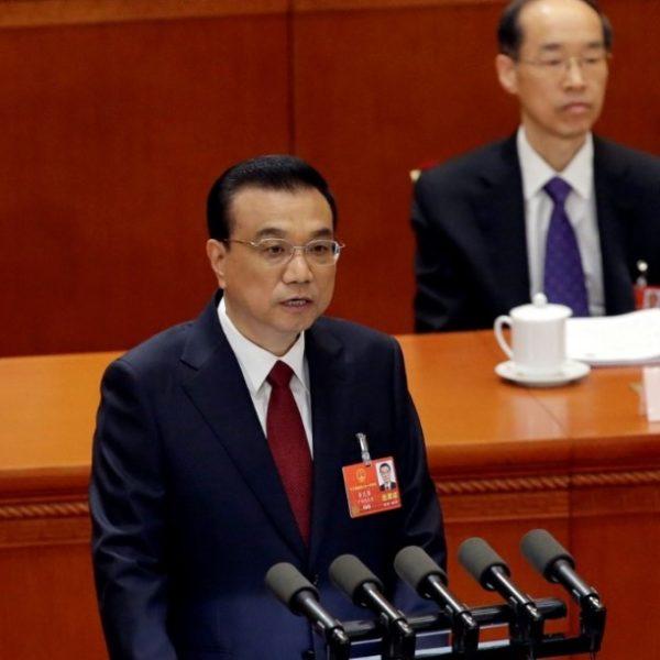 ο Κινέζος πρωθυπουργός Λι Κετσιάνγκ