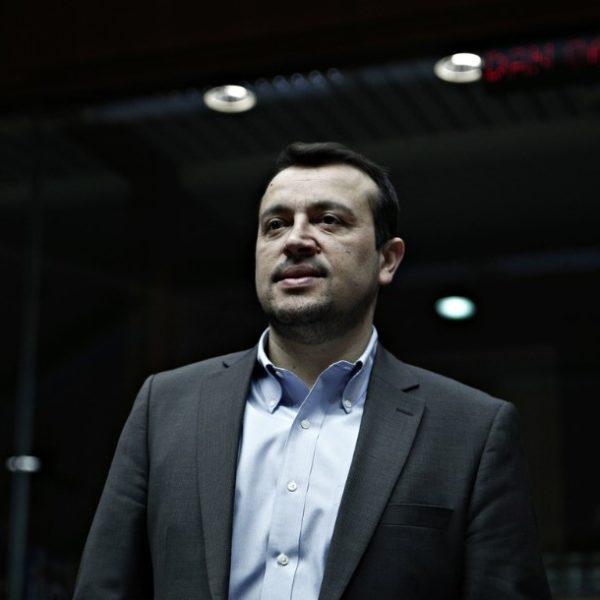 ο τομεάρχης Οικονομίας της Κ.Ο. του ΣΥΡΙΖΑ και βουλευτής Νότιου Τομέα Β' Αθηνών, Νίκος Παππάς,