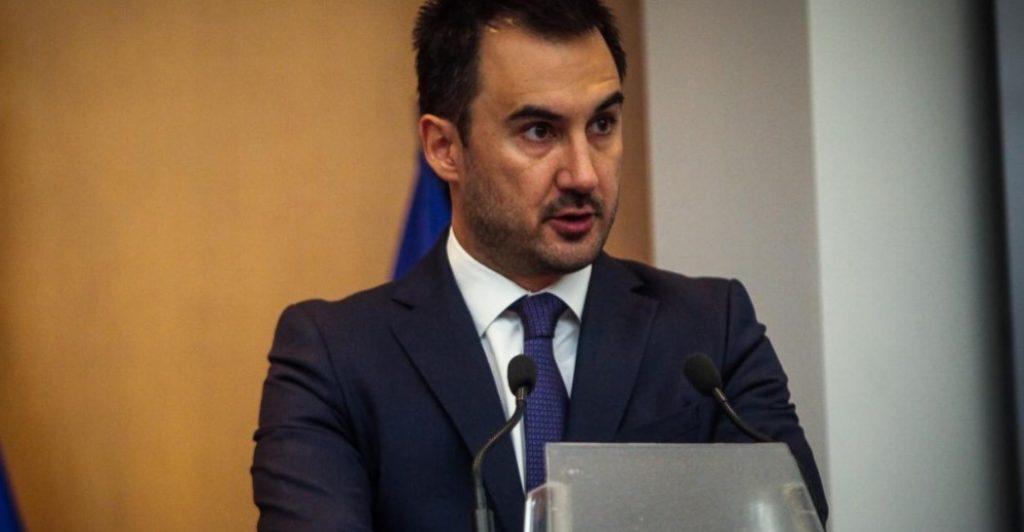 ο βουλευτής Μεσσηνίας και εκπρόσωπος Τύπου του ΣΥΡΙΖΑ, Αλέξης Χαρίτσης