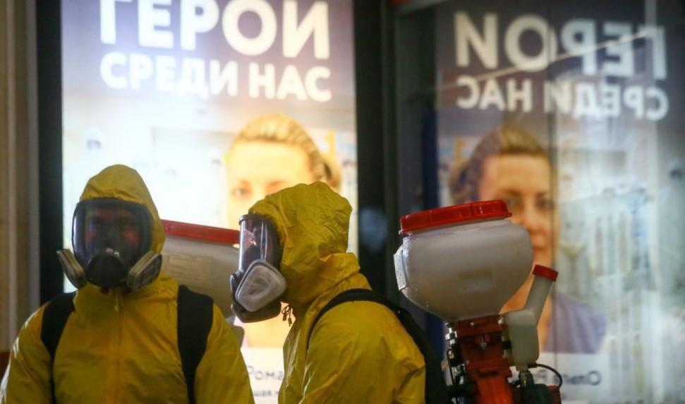 Ρωσία - Κορωνοϊός: 9.268 νέα κρούσματα