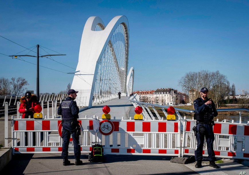 Γαλλογερμανική έκκληση για άνοιγμα των ευρωπαϊκών συνόρων
