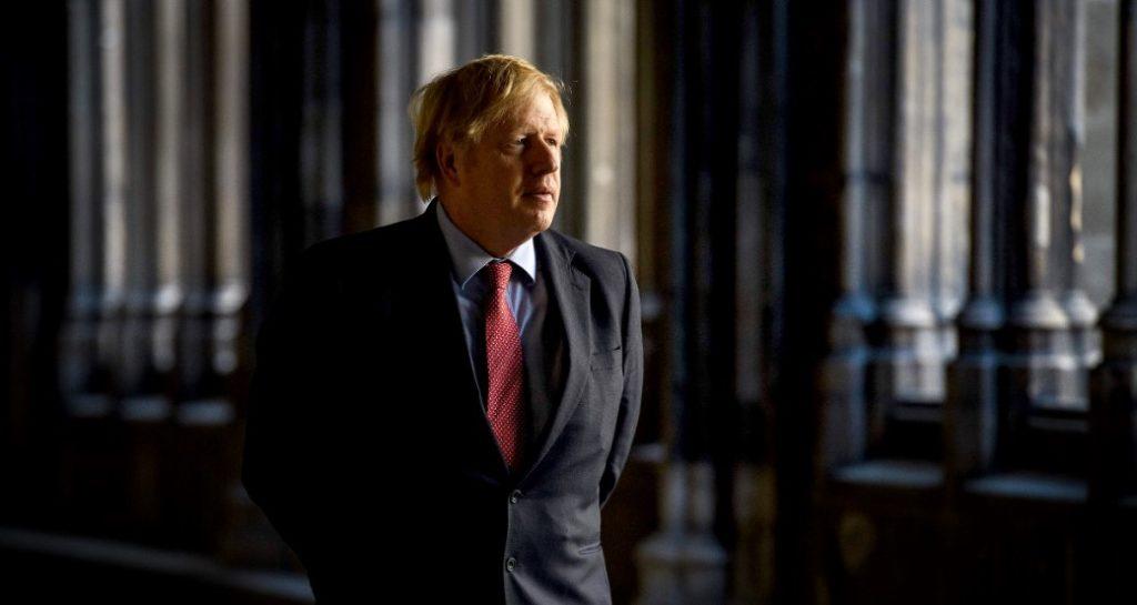Ο πρωθυπουργός της Βρετανίας Μπόρις Τζόνσον
