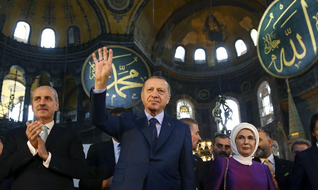 Hurriyet για Αγία Σοφία: Ο Ερντογάν εξετάζει σοβαρά το θέμα του ανοίγματός της ως τζαμί