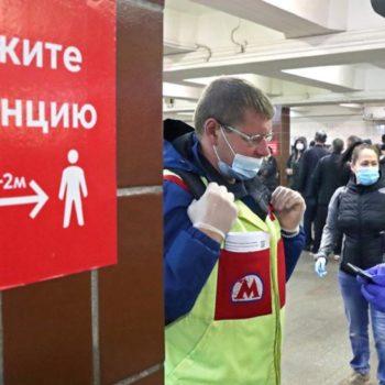Ρωσία - Κορωνοϊός: 162 νεκροί μέσα σε ένα 24ωρο