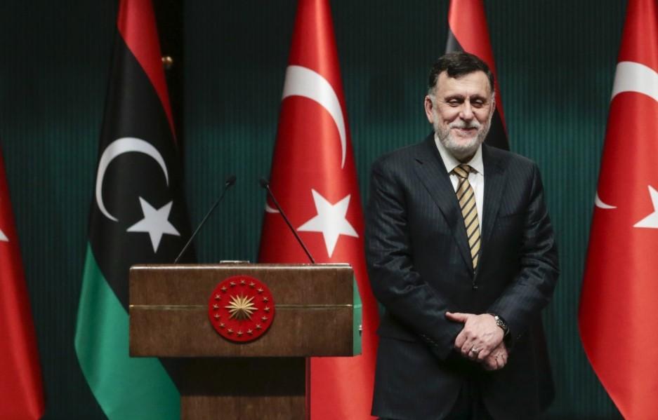 Ο επικεφαλής της κυβέρνησης της Τρίπολης, αλ Σάρατζ