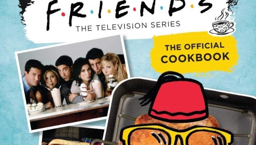Βιβλίο μαγειρικής με συνταγές της σειράς «Friends»