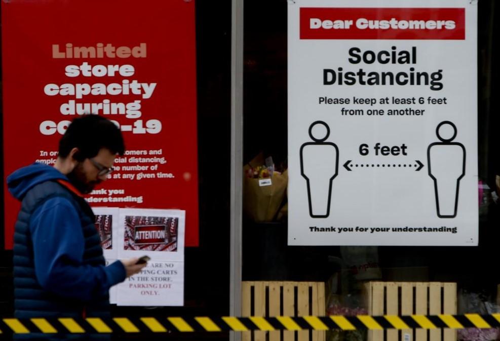 Μελέτη για κορονοϊό: Όσο μεγαλύτερη απόσταση έχουν μεταξύ τους οι άνθρωποι τόσο πιο ασφαλείς