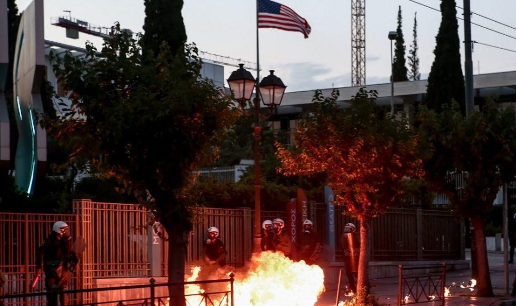 Δίωξη για πλημμελήματα στους 5 συλληφθέντες για τα επεισόδια στην αμερικανική πρεσβεία