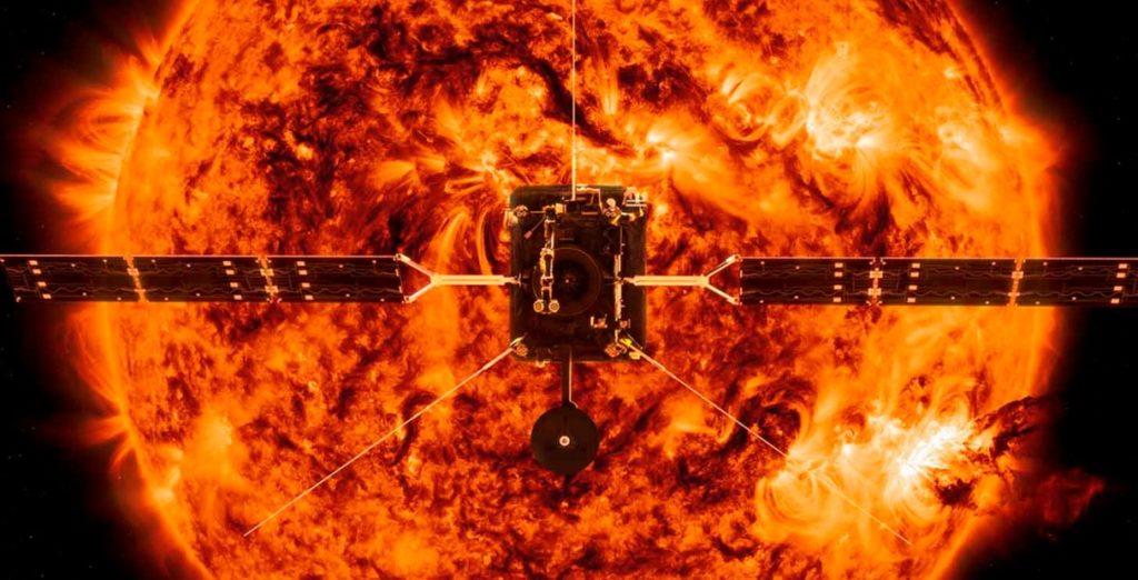 Το Solar Orbiter κάνει το πρώτο κοντινό πέρασμά του από τον Ήλιο