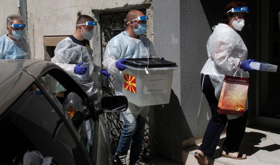Βόρεια Μακεδονία: Κρίσιμες βουλευτικές εκλογές υπό τη σκιά του κορωνοϊού