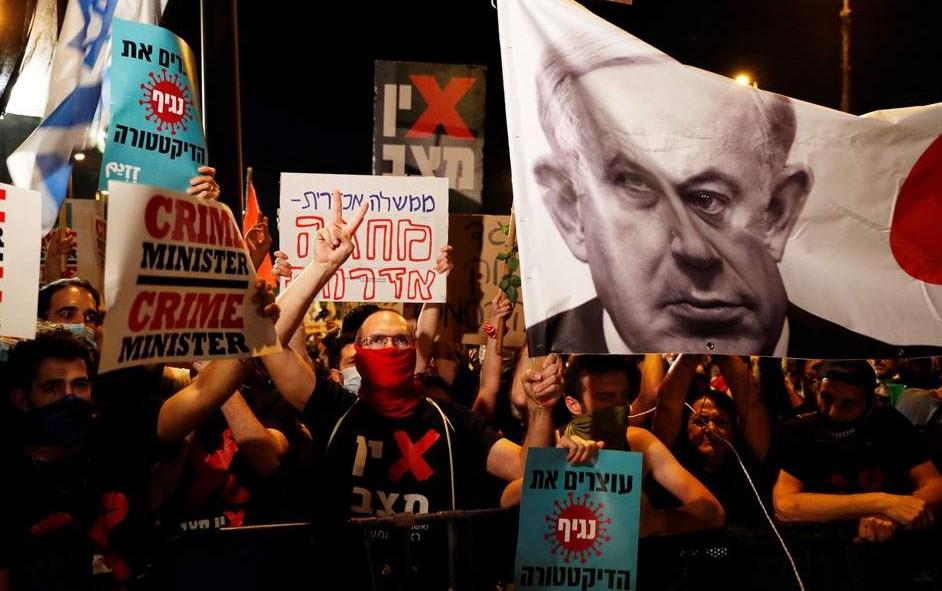 Ισραήλ: Νέα διαδήλωση κατά του Νετανιάχου με αίτημα την παραίτησή του