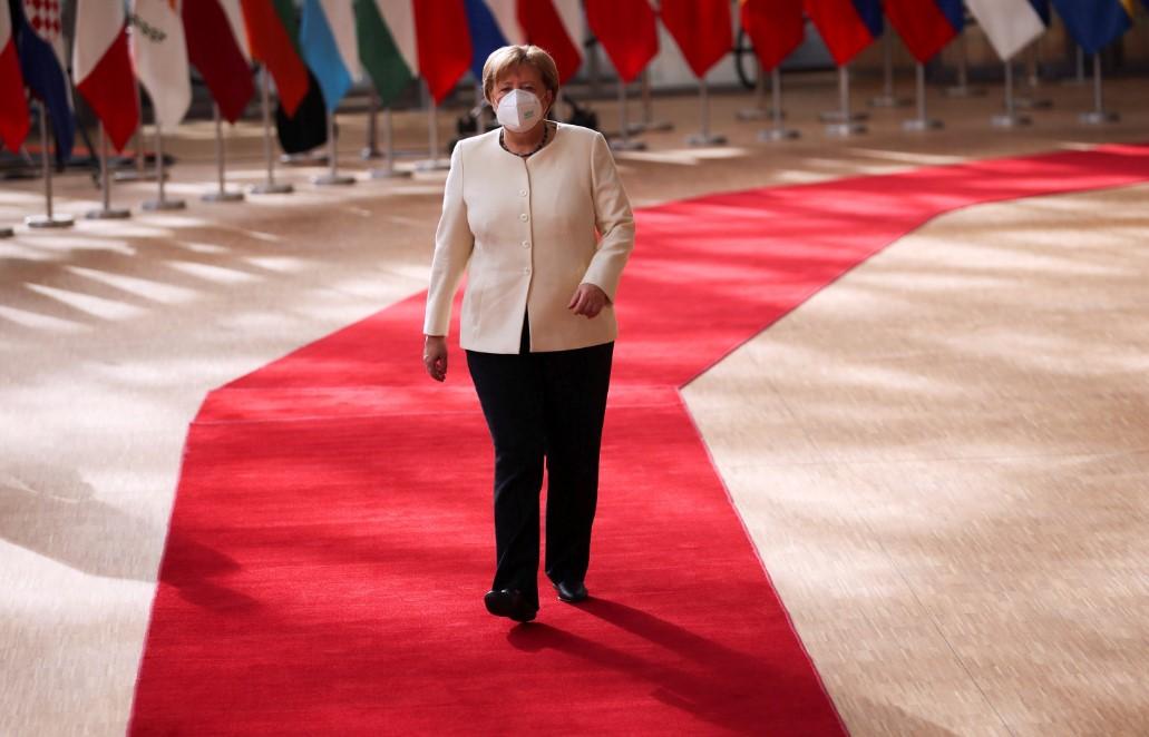 η καγκελάριος της Γερμανίας Άγγελα Μέρκελ.