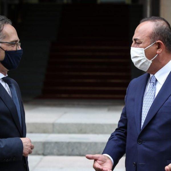 Μάας σε Τσαβούσογλου: Η διευθέτηση των τουρκικών γεωτρήσεων σε Ελλάδα και Κύπρο προϋπόθεση για την εμβάθυνση του ευρωτουρκικού διαλόγου