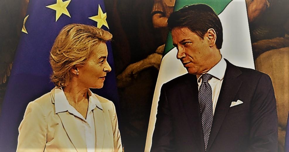 Έντονος καυγάς Κόντε - φον ντερ Λάιεν για το ταμείο ανάκαμψης της ΕΕ