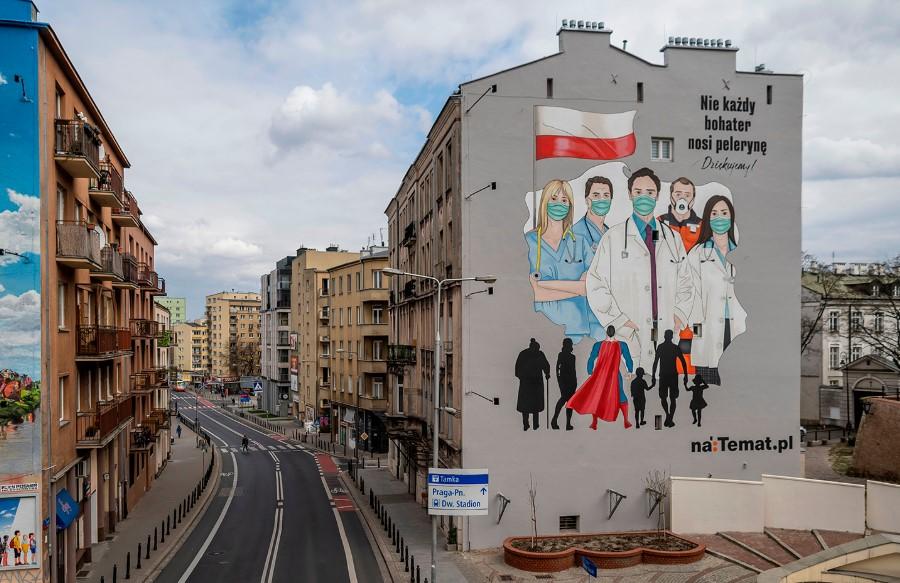 Πολωνία - Κορωνοϊός: Έλεγχοι σε καταστήματα, για τη χρήση μασκών