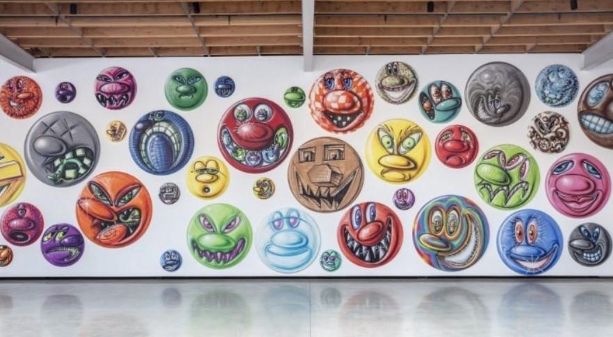 Τα «emojis» του Κένι Σαρφ, σε γκαλερί του Λος Άντζελες