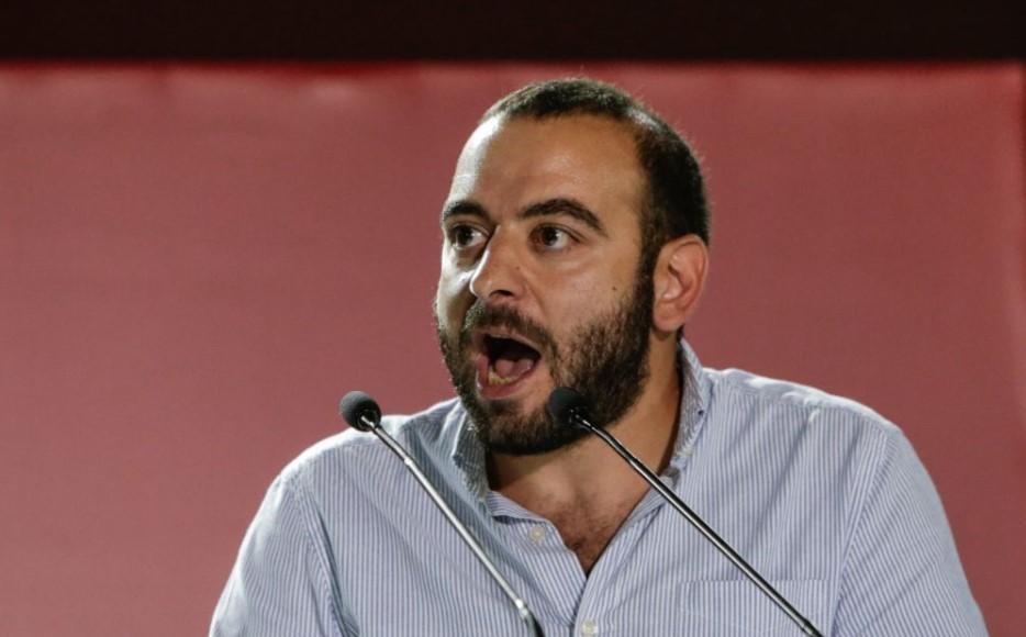 Ο Γραμματέας του ΚΣ της ΚΝΕ, Νίκος Αμπατιέλος