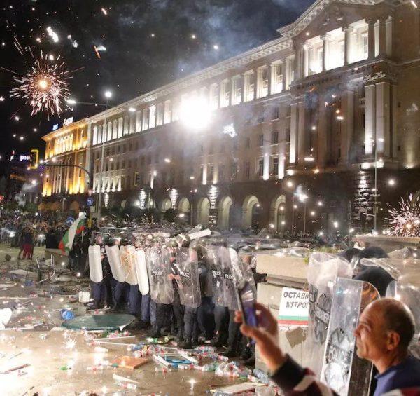 Βουλγαρία - Διαδηλώσεις κατά Μπορίσοφ: Τουλάχιστον 55 τραυματίες