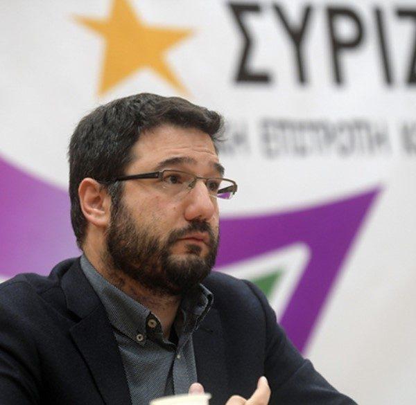 ο εκπρόσωπος Τύπου του ΣΥΡΙΖΑ – Προοδευτική Συμμαχία, Νάσος Ηλιόπουλος