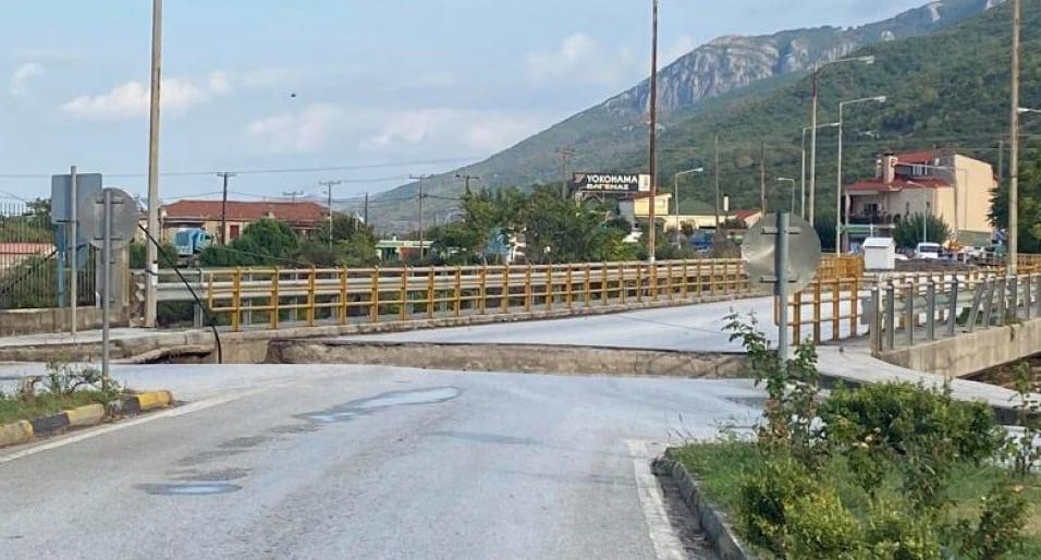 Καρδίτσα: Εργασίες αποκατάστασης του οδικού δικτύου