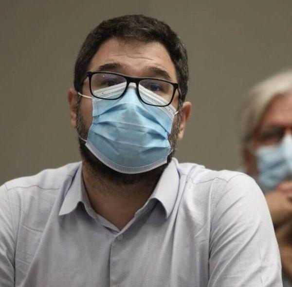 ο εκπρόσωπος Τύπου του ΣΥΡΙΖΑ-Προοδευτική Συμμαχία Νάσος Ηλιόπουλος