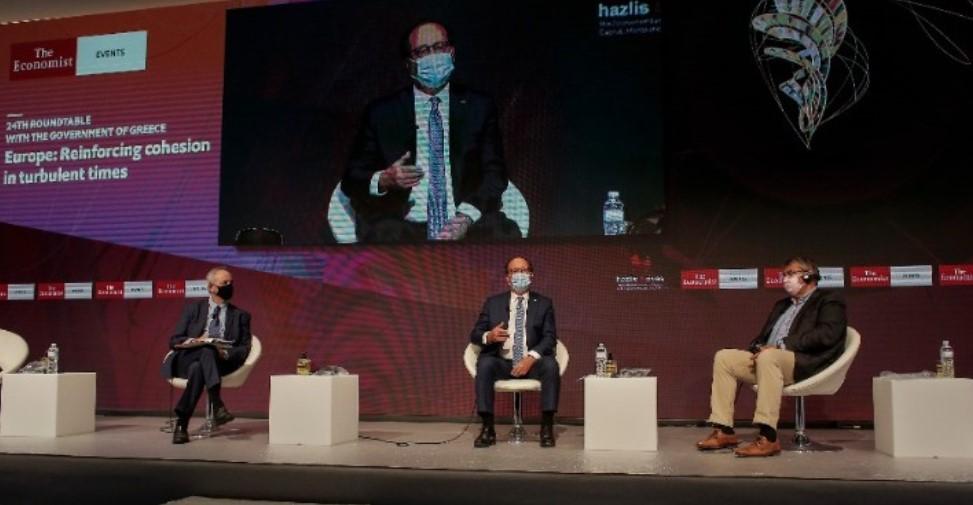 Συνέδριο Economist: «Αντιπαράθεση» Ολάντ - Γκάμπριελ για την πολιτική της ΕΕ έναντι της Άγκυρας