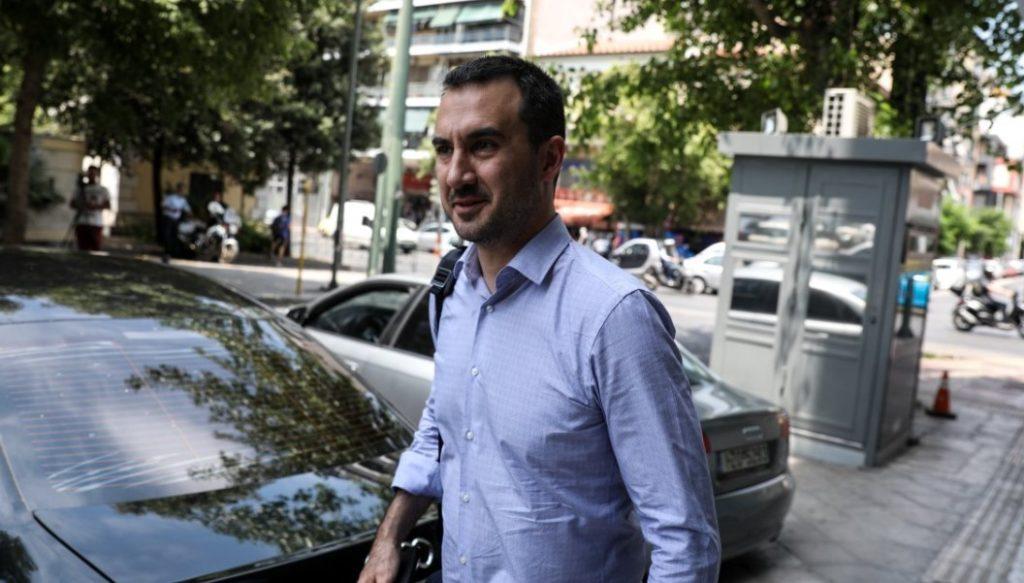 ο βουλευτής Μεσσηνίας και τομεάρχης Ανάπτυξης και Επενδύσεων του ΣΥΡΙΖΑ, Αλέξης Χαρίτσης