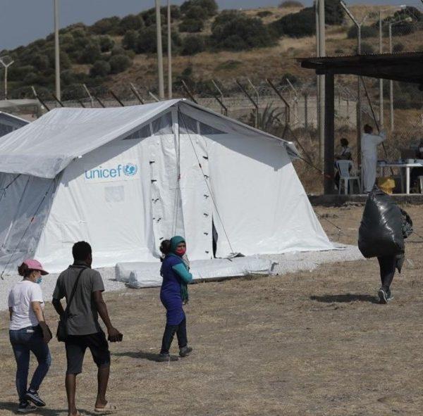 Μυτιλήνη: Στους 800 οι πρόσφυγες και μετανάστες που έχουν εισέλθει στον νέο καταυλισμό του Καρά Τεπέ