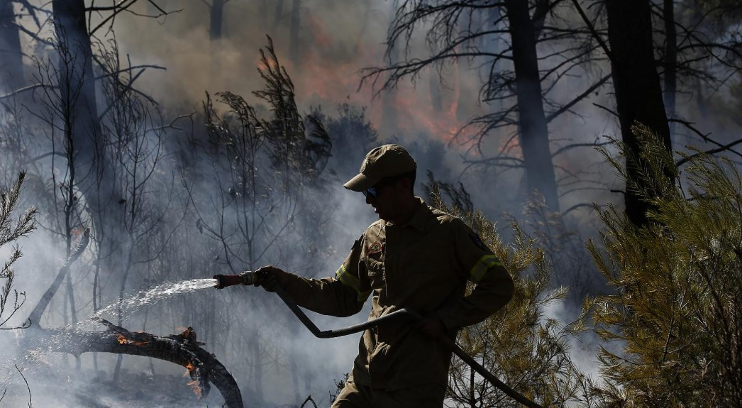 Αλεξανδρούπολη: Μαίνεται η πυρκαγιά μεταξύ των οικισμών Μελίας και Νίψας