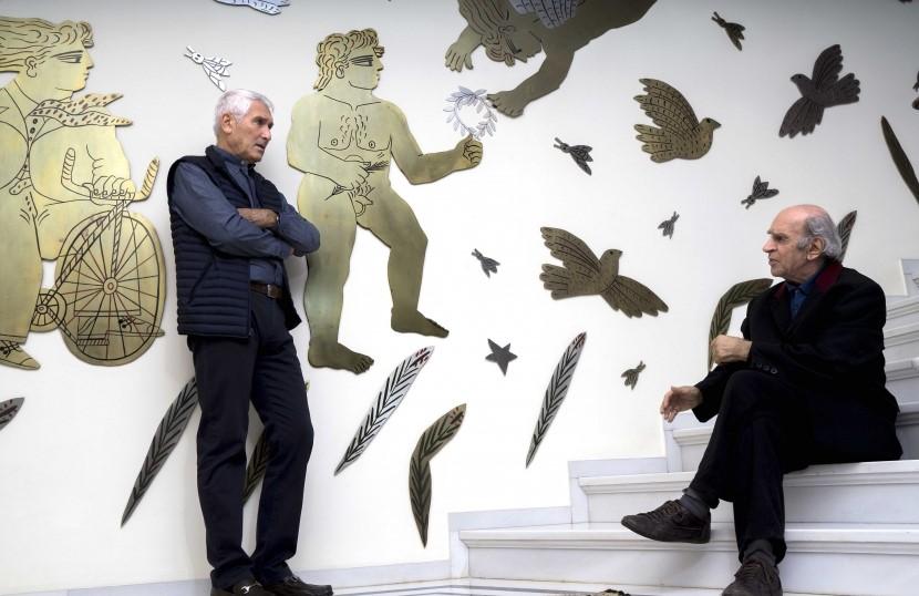 Βαγγέλης Χρόνης-Αλέκος Φασιανός. 30 χρόνια φιλία. Ζωγραφική και ποίηση