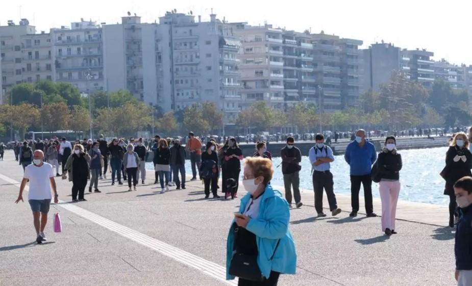 Κορωνοϊός Ελλάδα - Θεσσαλονίκη