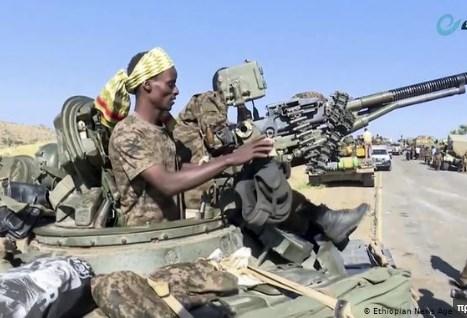 Αιθιοπία δυνάμεις του Τιγκράι