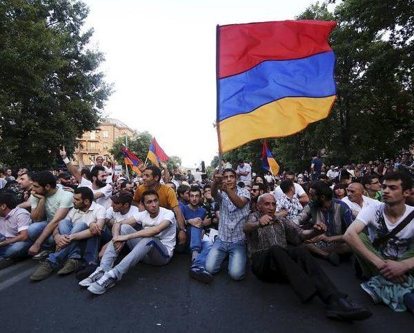 Αρμενία Διαδηλώσεις