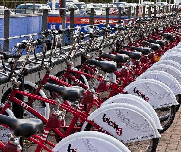 Βαρκελώνη Ηλεκτρικά ποδήλατα στη διάθεση των δημοτών