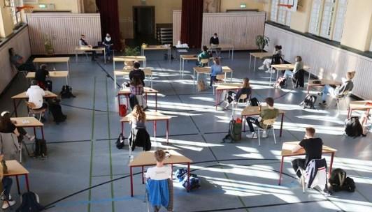 Γερμανία μαθητες καραντίνα