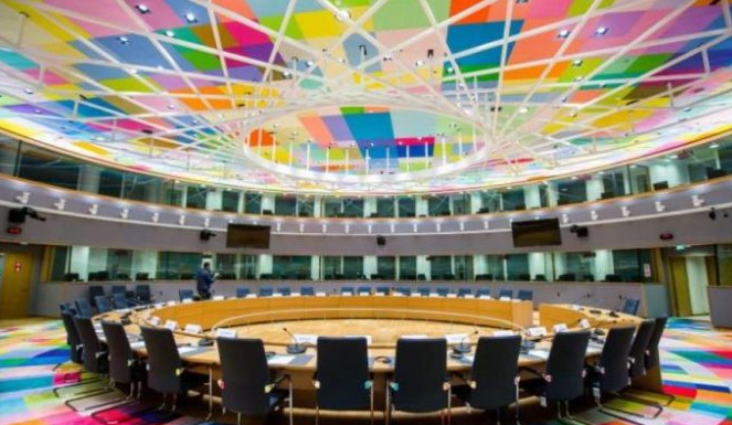 Ευρωπαϊκό Συμβούλιο τηλεδιασκεψη