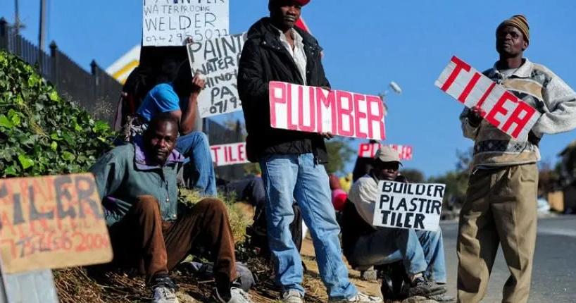 ανεργία στη Νοτια Αφρική
