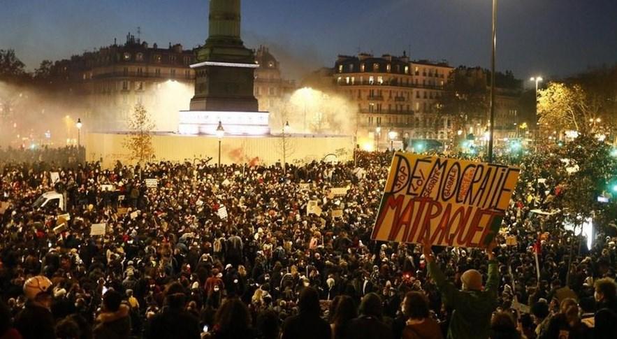βίαιες ταραχές αστυνομική βία Γαλλία