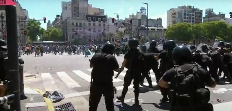 επεισόδια Casa Rosada