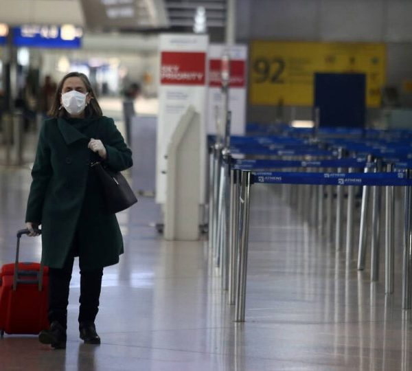 επιβατική κίνηση αεροδρόμια