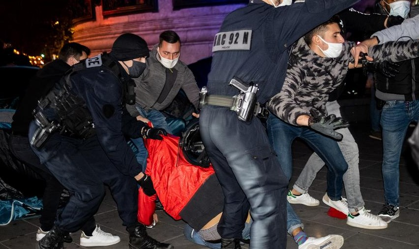 γαλλία αστυνομικη βια