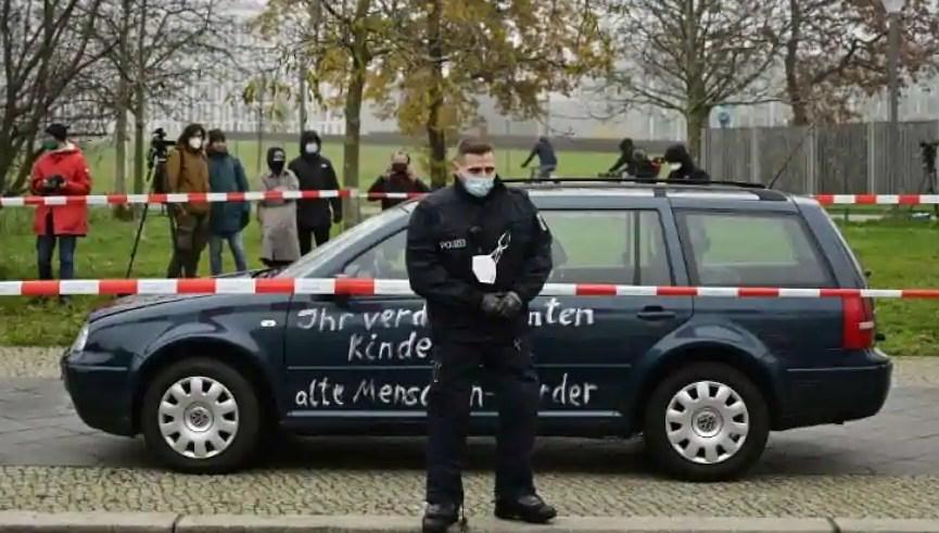 Γερμανία δύο νεκροί αυτοκίνητο που έπεσε πάνω σε πεζούς Τριρ