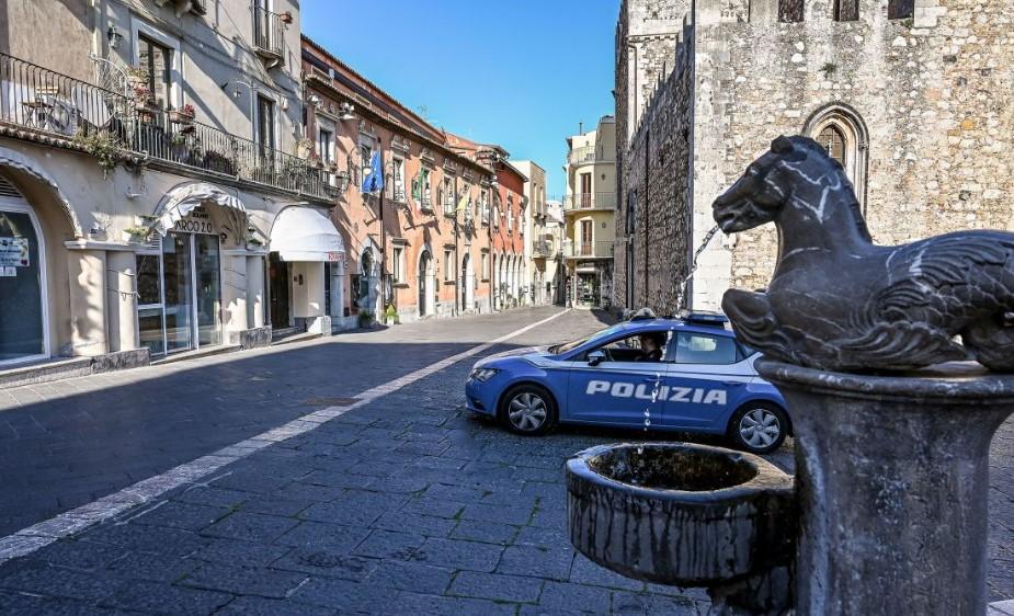 Ιταλία Πανδημία μαφία