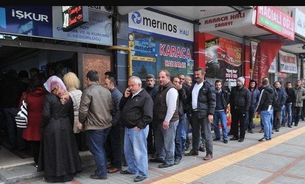 Τουρκία ανεργία
