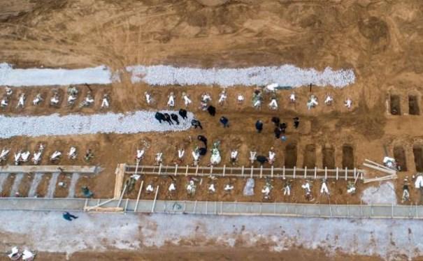 χώροι μαζικής ταφής κορονοϊος Βόρεια Ελλάδα
