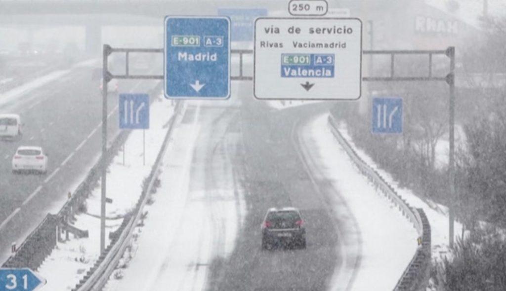Ισπανία χιονοπτώσεις
