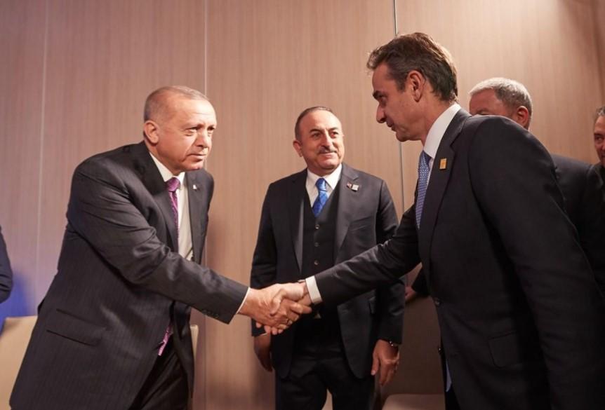 Ερντογάν Μητσοτάκης