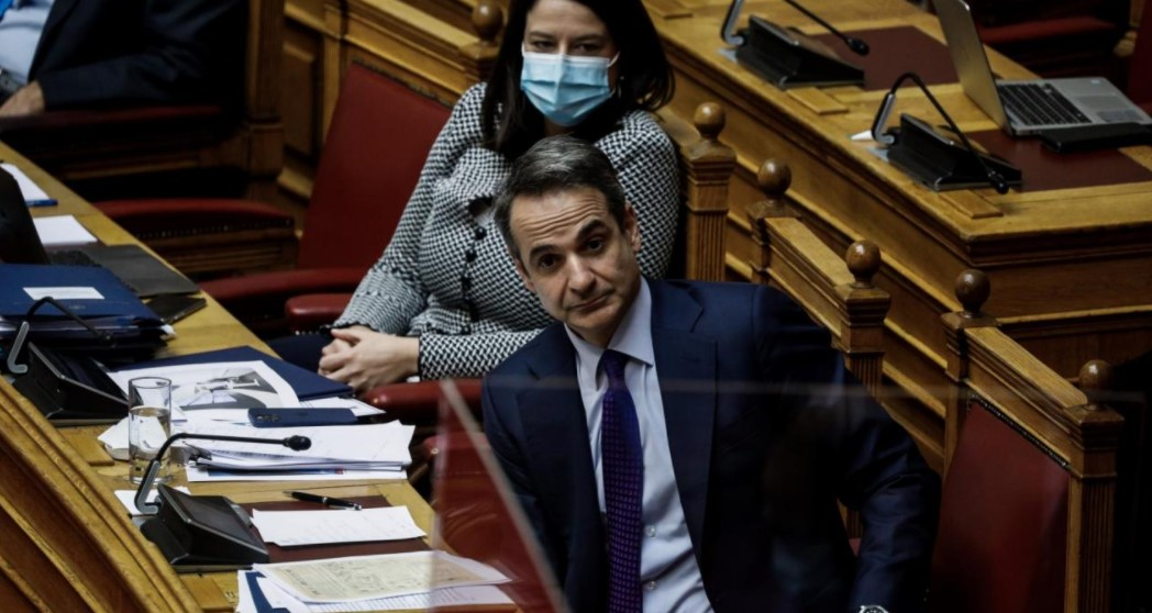 Μητσοτάκης Βουλή