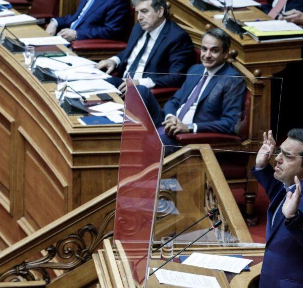 Βουλή Τσίπρας Μητσοτάκης