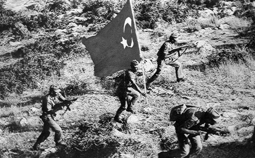 Κύπρος τουρκική εισβολή
